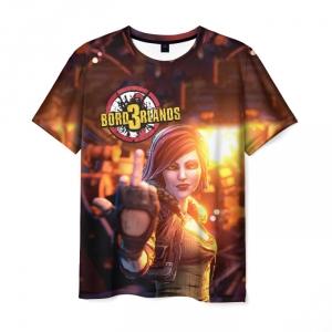 Merch Men T-Shirt Borderlands Lilith'S Middle Finger