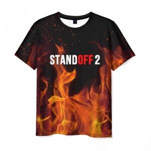 Merch Standoff 2 Fire Men T-Shirt Black