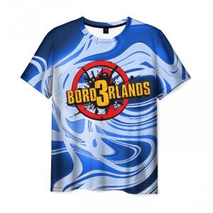 Merch Men T-Shirt Borderlands Blue Vibe