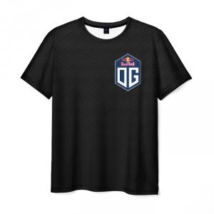 Merchandise Men'S T-Shirt Black Design Logo Dota2