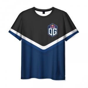 Merchandise Men'S T-Shirt Og Team Dota2 Outline Print