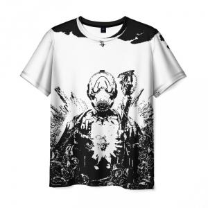 Merch Men'S T-Shirt Game Borderlands White Design