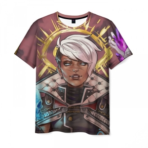 Merch Men'S T-Shirt Character Game Print Borderlands
