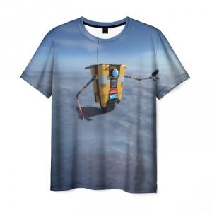 Merch Men'S T-Shirt Borderlands Sky Print Design