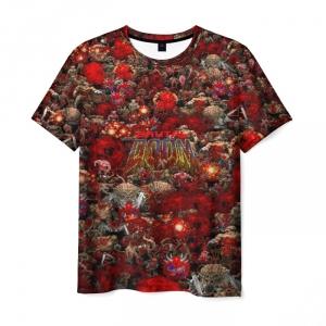 Collectibles Men'S T-Shirt Brutal Doom Picture Print