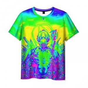 Merch Men'S T-Shirt Borderlands Toxic Color Print