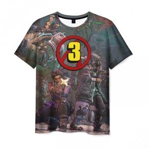Merch Men'S T-Shirt Borderlands Print Image Game