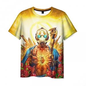 Merch Men'S T-Shirt Design Borderlands Game Label