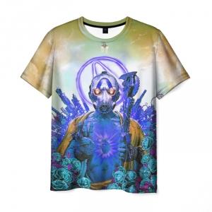 Merch Men'S T-Shirt Borderlands Picture Design