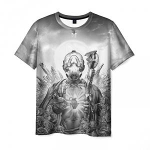 Merch Men'S T-Shirt Borderlands Grey Picture