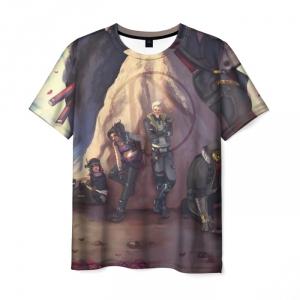 Merch Men'S T-Shirt Borderlands Game Print