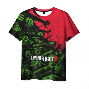 Merchandise Men'S T-Shirt Zombie Print Dying Light Game