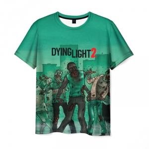 Merchandise Men'S T-Shirt Scene Dying Light Game Apparel