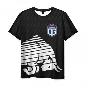 Merchandise Men'S T-Shirt Og Team Dota Black Print