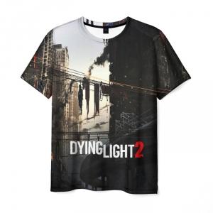 Merchandise Men'S T-Shirt Text Game Dying Light Label