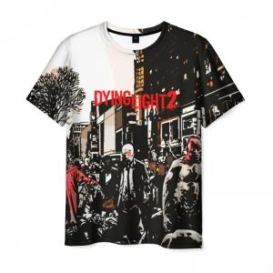 Merchandise Men'S T-Shirt Scene Picture Dying Light Design