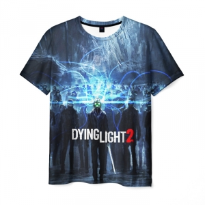 Merchandise Men'S T-Shirt Logo Picture Text Game Dying Light