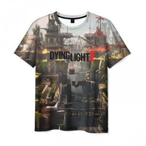 Merchandise Men'S T-Shirt Text Game Dying Light