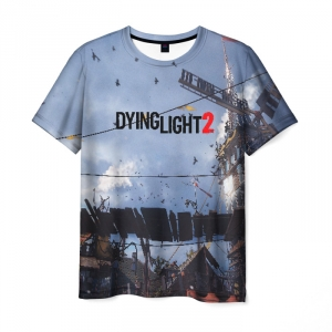 Merchandise Men'S T-Shirt Title Game Dying Light Print
