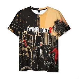 Merchandise Men'S T-Shirt Scene Game Dying Light Print