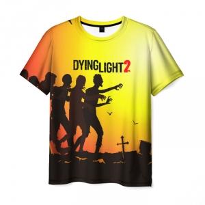 Merchandise Men'S T-Shirt Sene Game Dying Light