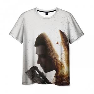 Merchandise Men'S T-Shirt White Hero Dying Light Design