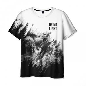 Merchandise Men'S T-Shirt White Scene Game Dying Light