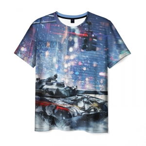Collectibles Men'S T-Shirt World Of Tanks War Picture Design