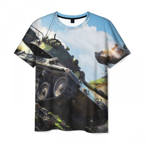 Collectibles World Of Tanks T-Shirt Game Design Print