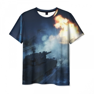 Collectibles Men'S T-Shirt Twillights Print World Of Tanks War
