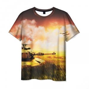 Collectibles Men'S T-Shirt War Game World Of Tanks Design