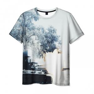 Collectibles Men'S T-Shirt White Design World Of Tanks