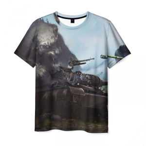 Collectibles Men'S T-Shirt World Of Tanks Picture Image