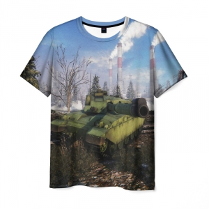 Collectibles Men'S T-Shirt World Of Tanks Russian Location