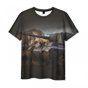 Collectibles Men'S T-Shirt World Of Tanks Black Tee