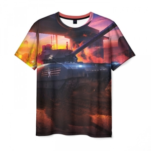 Collectibles Men'S T-Shirt World Of Tanks Twilight