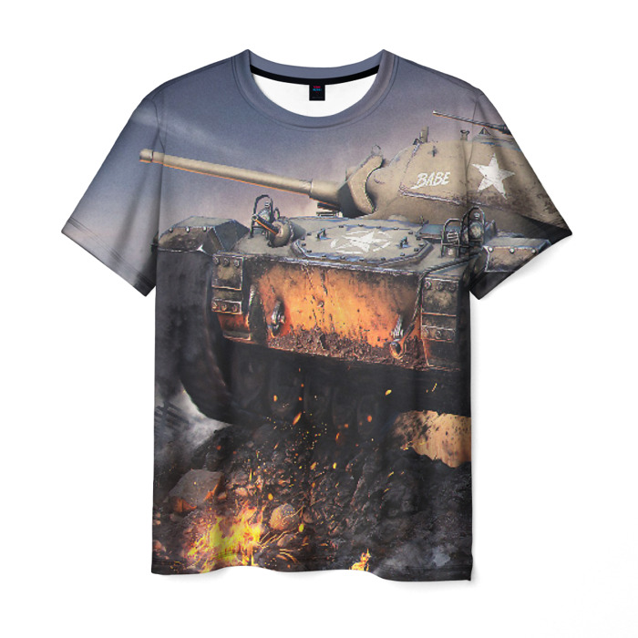 Merchandise World Of Tanks T-Shirt In Battle