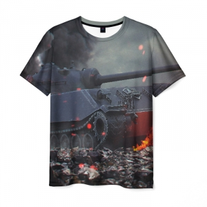 Collectibles Men'S T-Shirt World Of Tanks Image Print