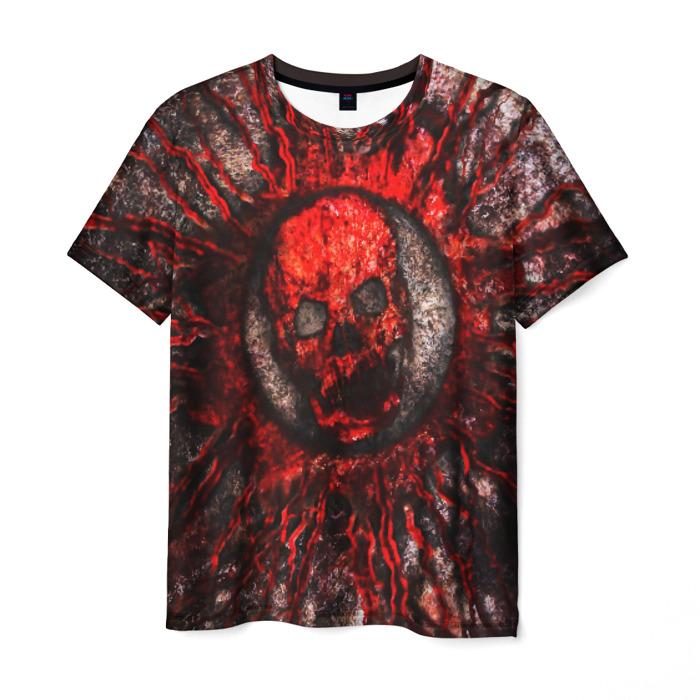 Merchandise Men'S T-Shirt Gears Of War 5 Horror Print Skull