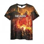Merchandise Men'S T-Shirt Gears Of War 5 Footage Game Print