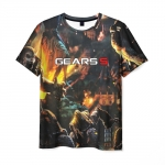 Collectibles Men'S T-Shirt Game Scene Gears Of War 5 Apparel