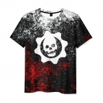 Merchandise Mens T-Shirt Black Figure Gears Of War 5