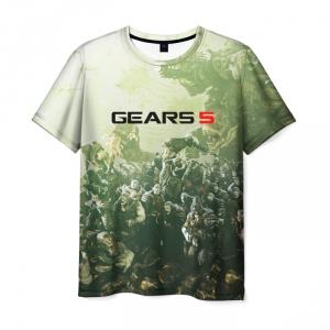 Merchandise Men'S T-Shirt Gears Of War 5 Apparel Design