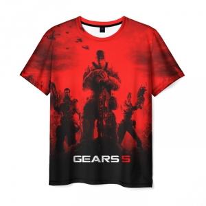 Merchandise Men'S T-Shirt Gears Of War 5 Scene Print