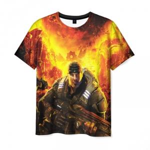 Merchandise Men'S T-Shirt Gears Of War 5 Hero Print Game