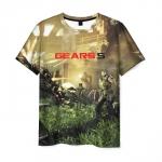 Collectibles Men'S T-Shirt Scene Design Gears Of War 5