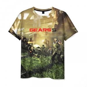Merchandise Men'S T-Shirt Scene Design Gears Of War 5