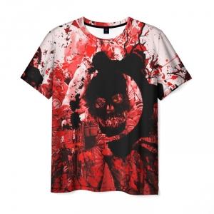 Merchandise Men'S T-Shirt Gears Of War 5 Horror Print