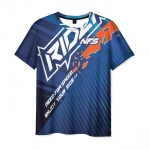 Collectibles Men'S T-Shirt Need For Speed Rider Print