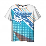 Collectibles Men'S T-Shirt Need For Speed White Image